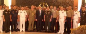 Amb. Tweddell with AFP