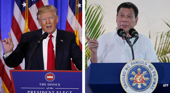 Trump and Duterte